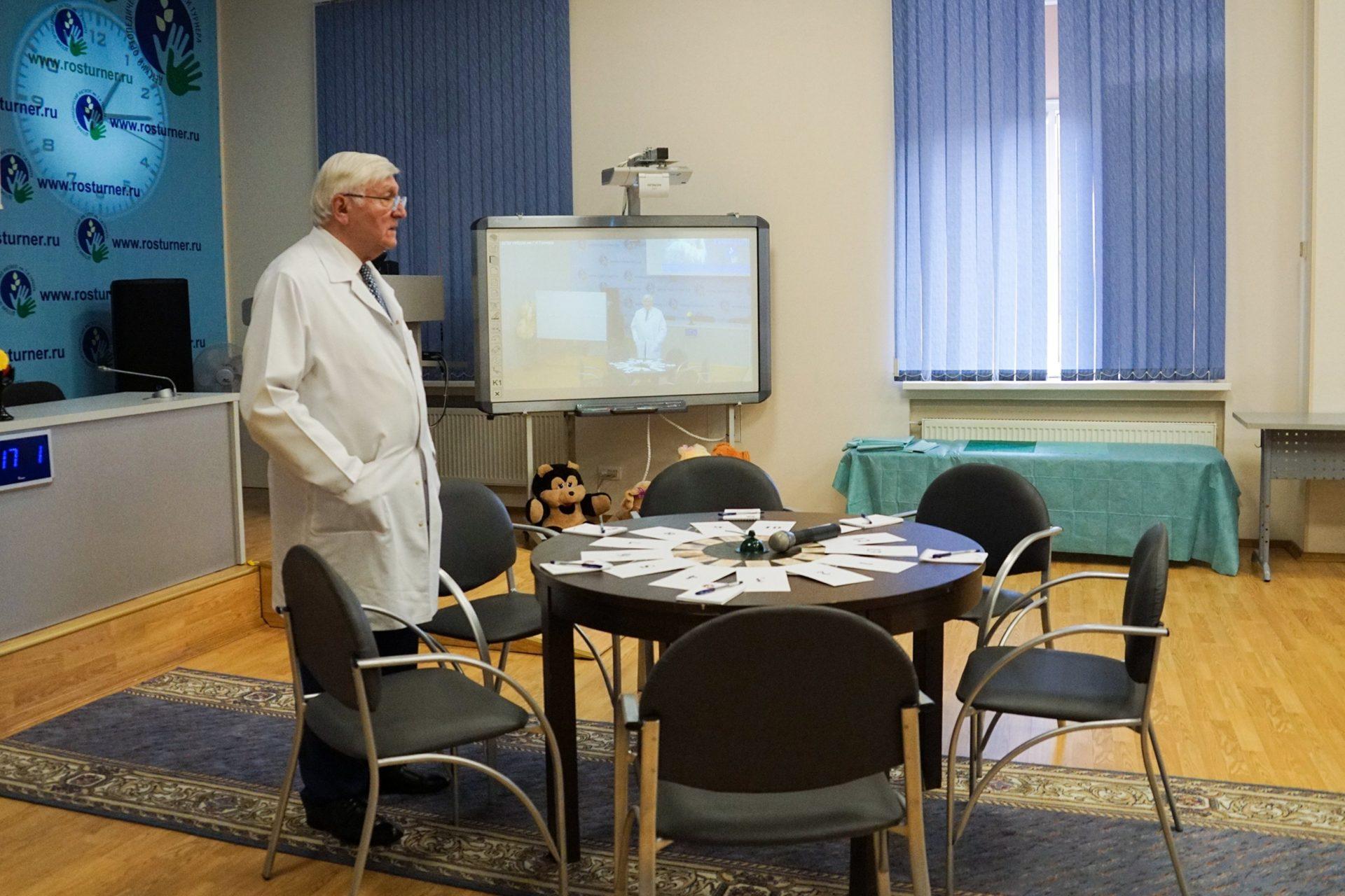 Первый этап промежуточной аттестации ординаторов Института первого и второго года обучения