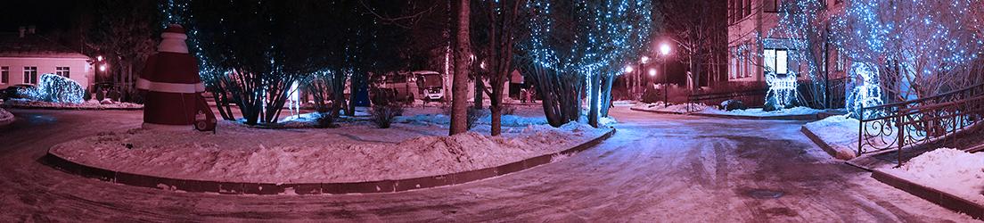 14 декабря «Рождественский караван Coca-Cola» прибыл в институт имени Г. И. Турнера
