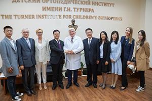 Институт им. Г.И. Турнера посетила делегация из Китайской Народной Республики