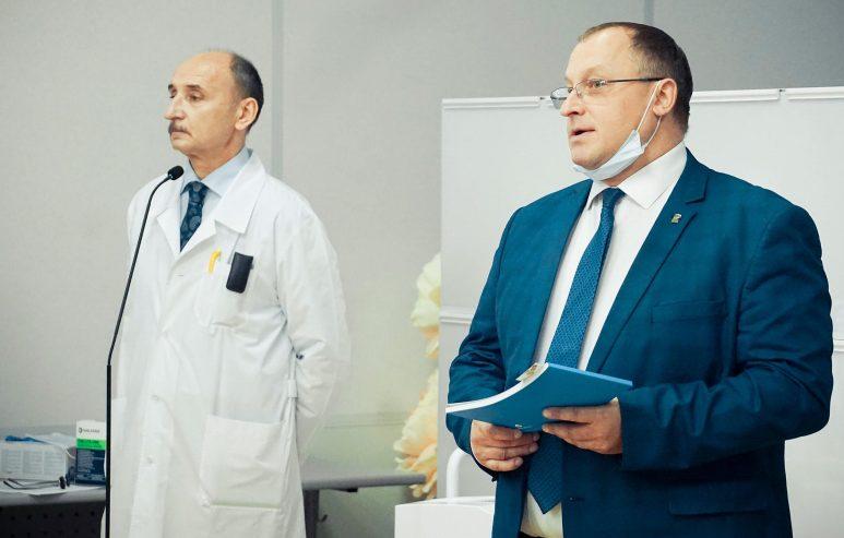 Презентация уникального магнитно-резонансного томографа
