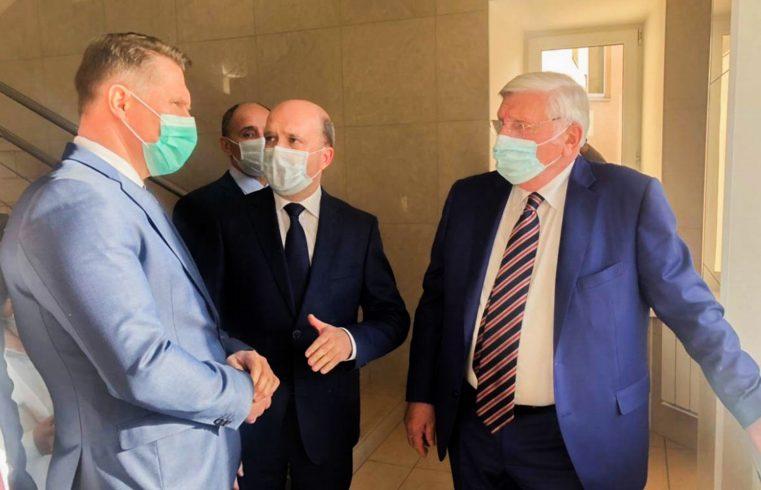 Визит в Институт Министра здравоохранения России Михаила Мурашко