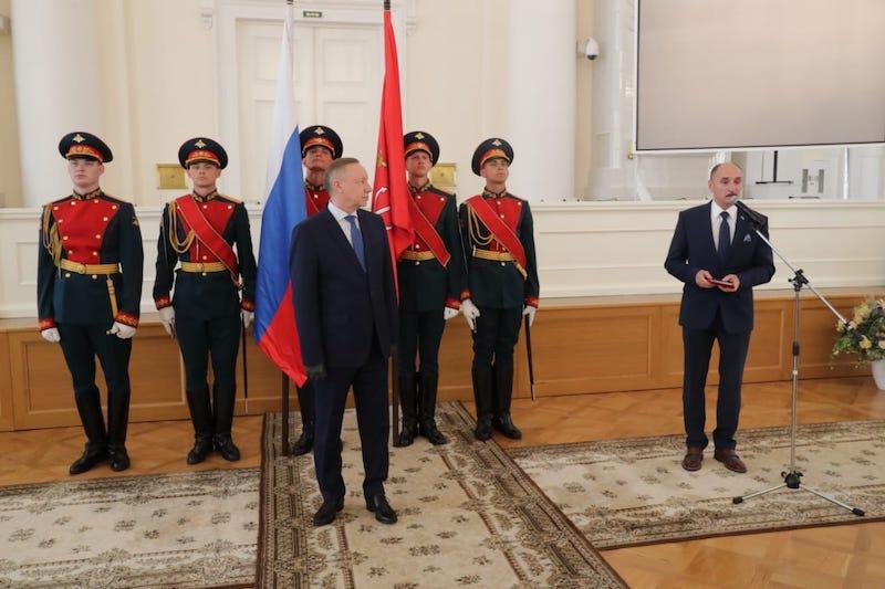 Маслов Владимир Александрович получил орден Дружбы