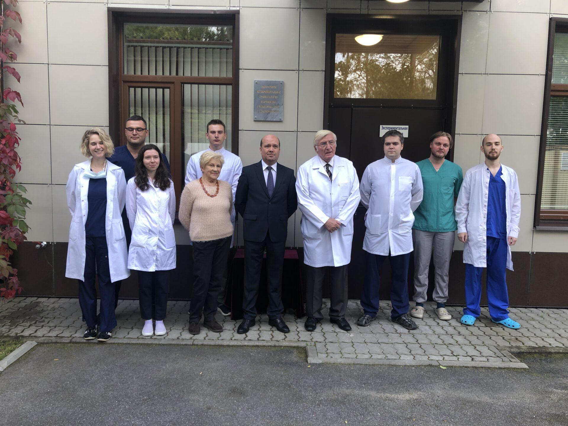Открытие экспериментальной лаборатории имени Геннадия Ивановича Гайворонского