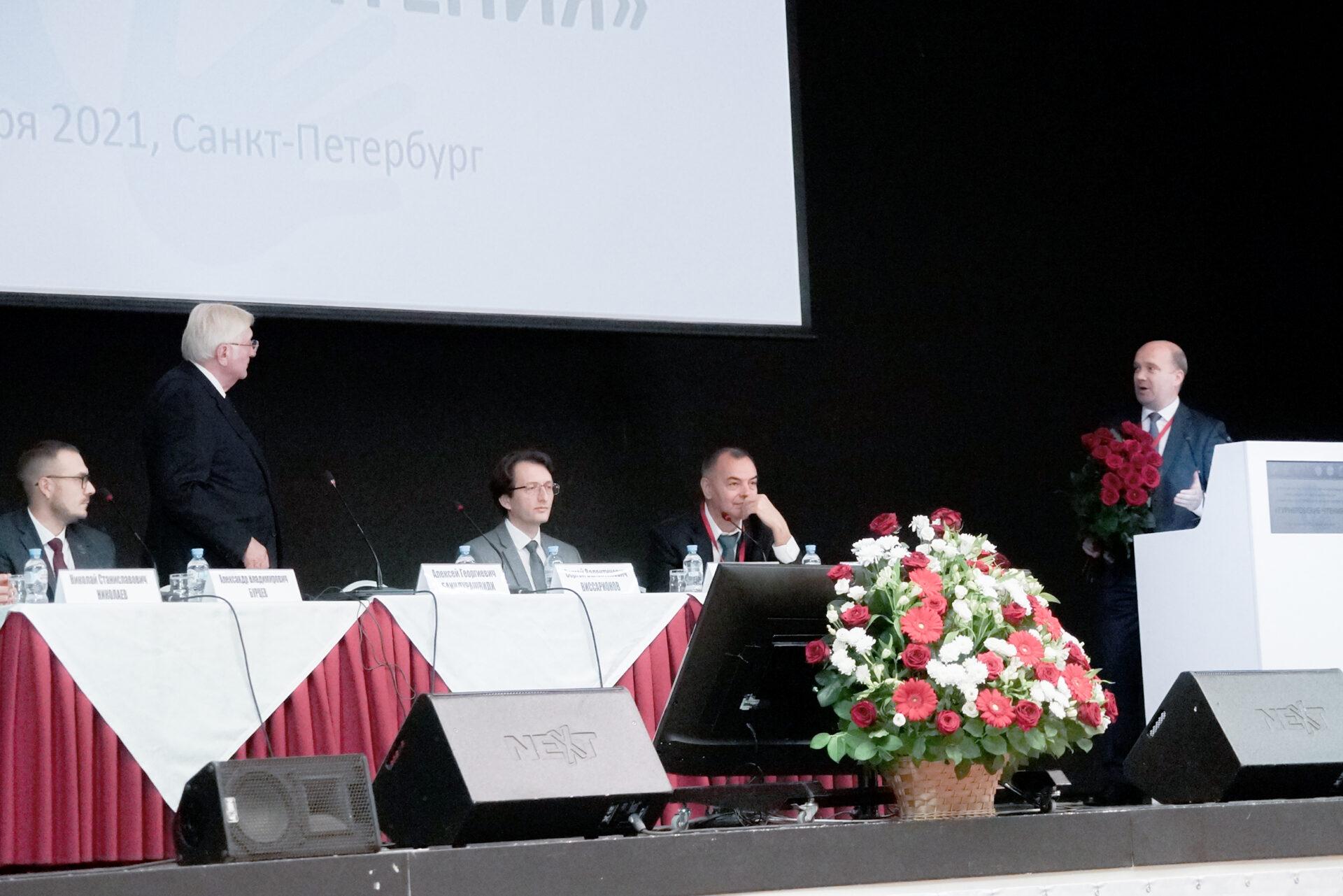 Алексей Георгиевич Баиндурашвили - 50 лет работы в институте Турнера